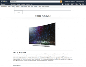 OLED TV-Ratgeber