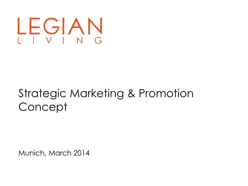 Legian Living Strategic Marketing Concept