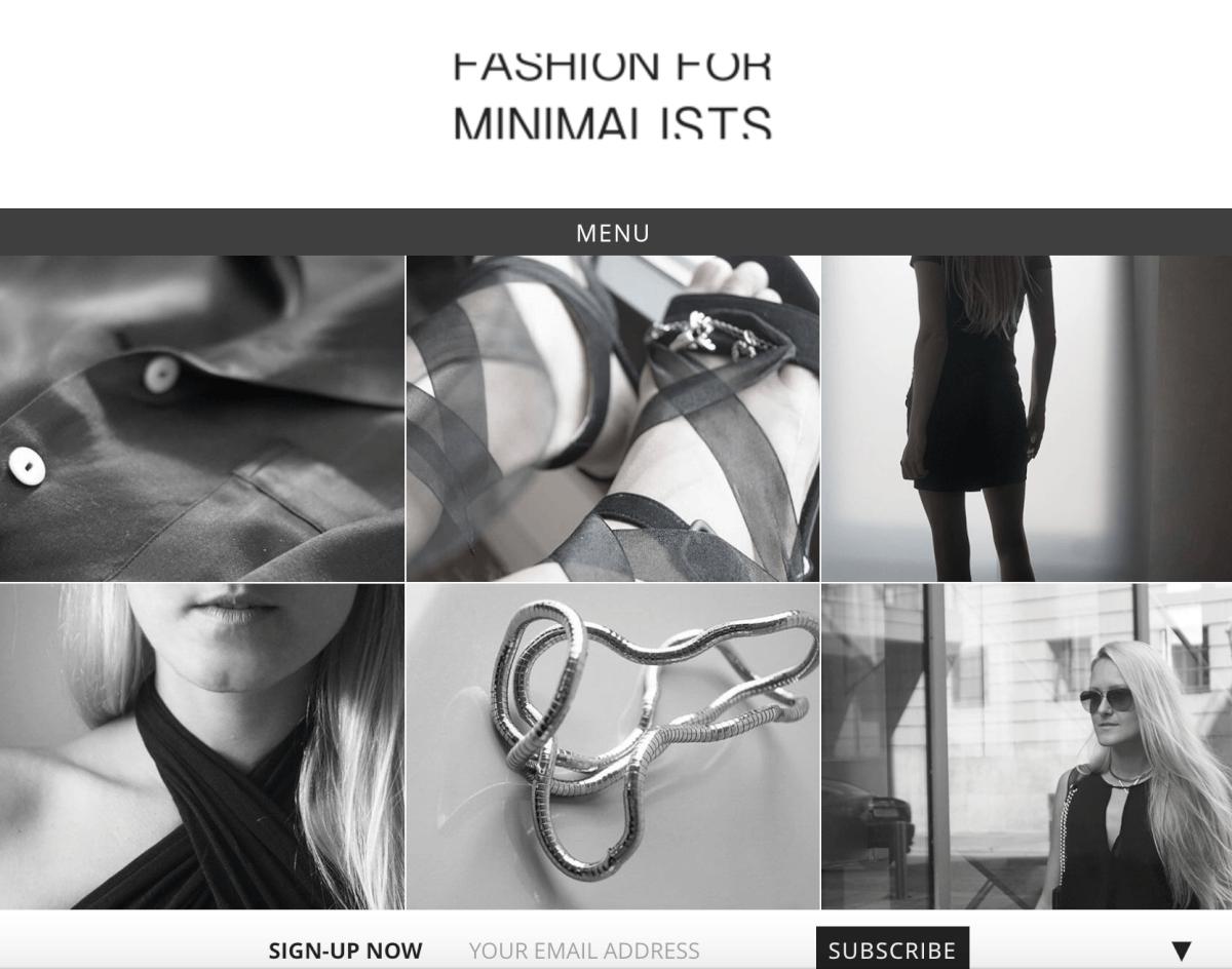Fashion for Minimalists Rebecca Schmitt