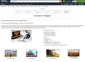 Amazon TV Ratgeber